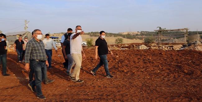 Eyyübiye Evren Sanayi Sitesinde yeni park yapılıyor