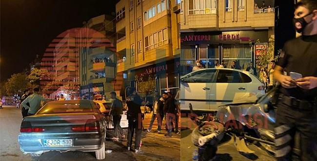 Haliliye'de trafik kazası! Yaralılar var!