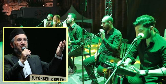 İhsan Şenocak'ı Mevlid-İ Nebi Etkinliği Kapsamında Urfalılarla Buluştu