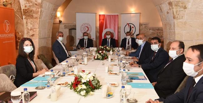 Karacadağ Kalkınma Ajansı Urfa'da toplandı, personel alınacak