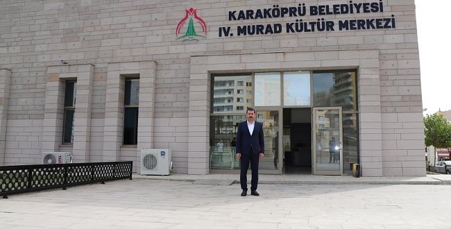Karaköprü'de 4. Murat kültür merkezi açılıyor
