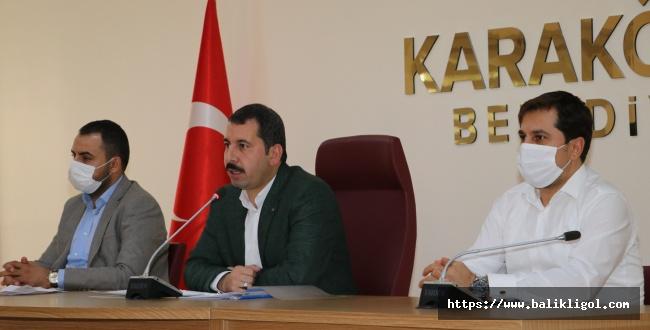 Karaköprü Belediye Başkanı Metin Baydilli'den Binali Yıldırım'a Teşekkür
