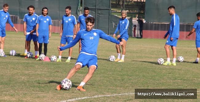 Karaköprü Belediyespor'da maç hazırlıkları devam ediyor