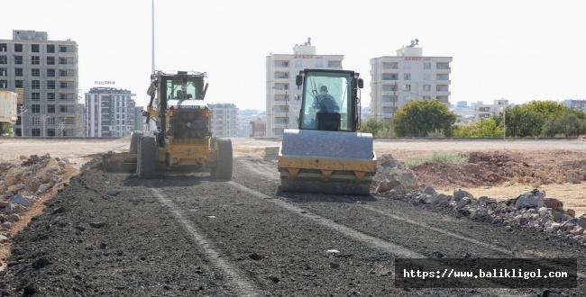 Karaköprü Yolları için ekipler gece gündüz çalışıyor