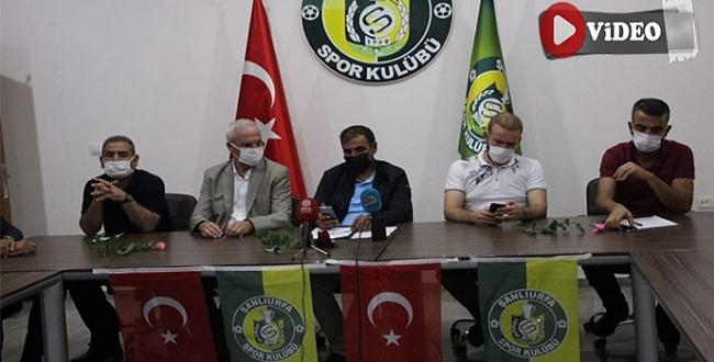 Şanlıurfaspor Kulüp Başkanı Emin Yetim'den son durum açıklaması