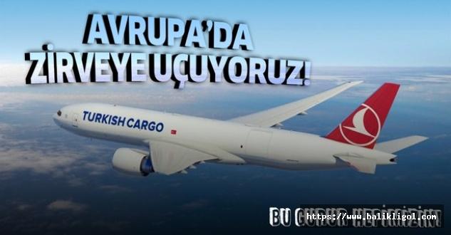 Türk Hava Yolları Kargoculukta AB birincisi oldu