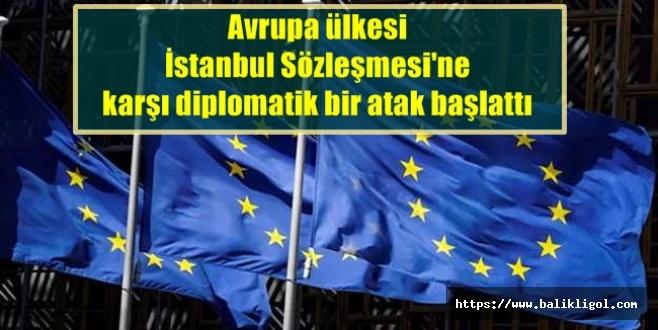Türkiye'de tartışıladursun, Avrupa Ülkesi aleyhte kampanya başlattı