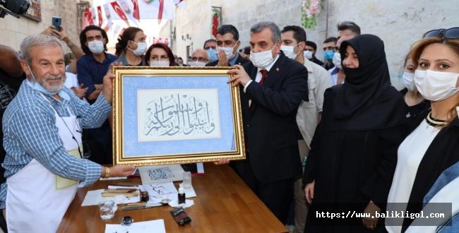 Urfa'da hayat normale dönüyor! Sanat Sokağı Yeni Normale Uygun Açıldı