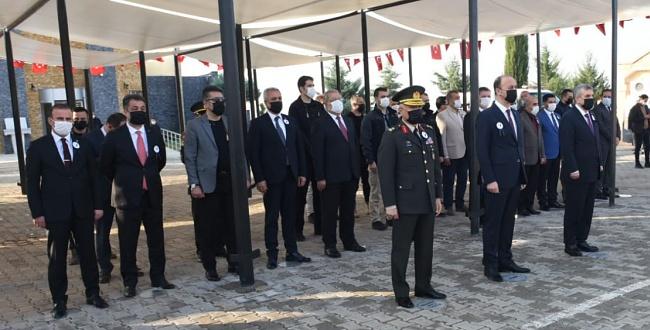 Atatürk, vefatının 82'nci yıldönümü Şanlıurfa'da anıldı