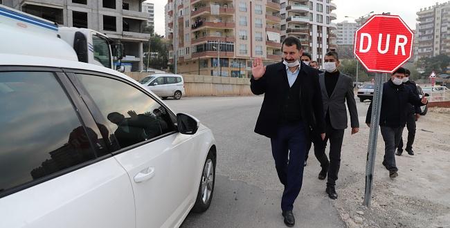 Karaköprü Belediye Başkanı Metin Baydilli ilçeyi adım adım geziyor