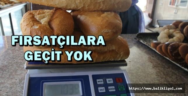 Belediye Zabıtası Milletin Ekmeğini Çalan Fırsatçılara Geçit Vermiyor