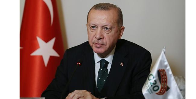 Erdoğan: Salgın dünyada yoksulluk ve eşitsizliği derinleştirdi