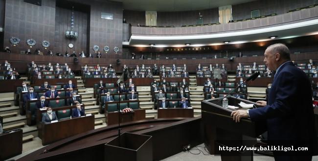 Erdoğan AK Parti Grup Toplantısında Kabine Değişikliğiyle İlgili konuştu