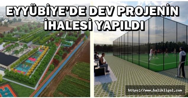 Eyyübiye Belediyesi İhalesini Yaptı