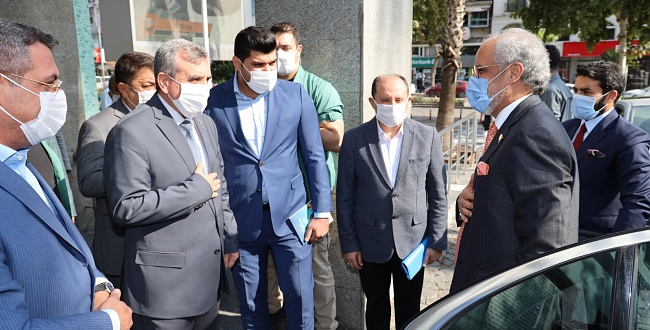 Kuveyt Büyükelçisi Al Zawawi'den Şanlıurfa Büyükşehir'e Ziyaret