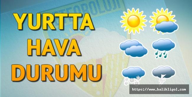 Meteorolojiden Uyarılar Var! Urfa'da Bugün hava Parçalı ve çok bulutlu