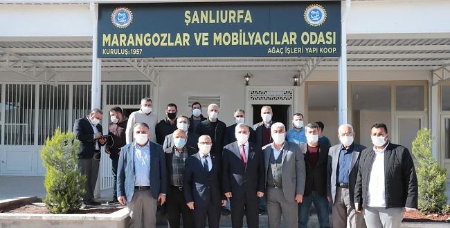 Şanlıurfa Büyükşehir, Meslek Sitelerinin Taşınmasını Hızlandırıyor