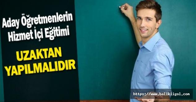 Şanlıurfa Eğitim-Bir-Sen'den aday öğretmenlerin eğitimi için öneri geldi