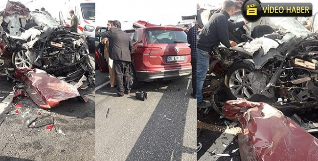 Şanlıurfa'da feci trafik kazası: 4 yaralı
