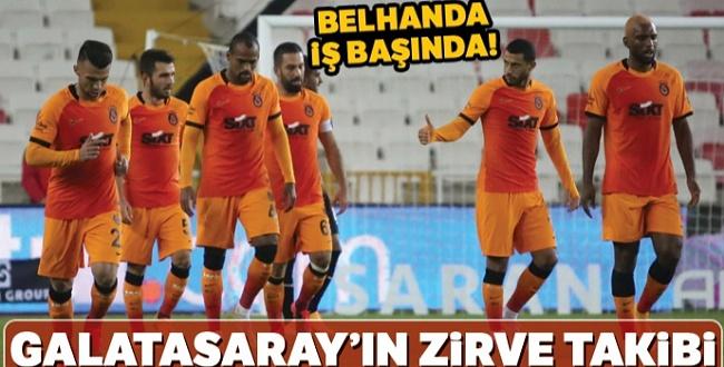 Sivasspor Maçında Belhanda Galatasaray'ı sırtladı 2-1