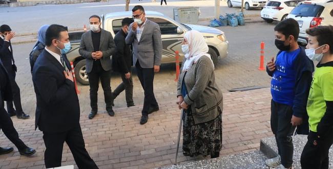 AK Parti İl Başkanı Yıldız, Yılın Son Ziyaretini Halfeti'ye Gerçekleştirdi
