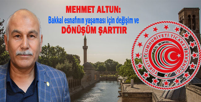 Bakkallar Odası Başkanı Mehmet Altun: Bakanlığın Projesini Yürekten Destekliyorum