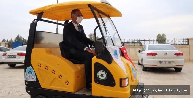 Eyyübiye Belediyesi Yeni Araçlar aldı