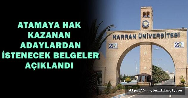 Harran Üniversitesi İşçi alımı Kura sonuçları açıkladı. İşte isim listesi