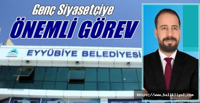 Hüseyin Yıldırım Eyyübiye belediyesi Tarımsal Kalkınma A.Ş Başkanı Oldu