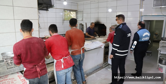 Karaköprü'de Kurallara Uymayan Esnafa Ceza Yağdı