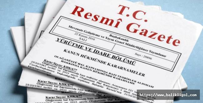 Resmi Gazete'nin 23 Aralık 2020 sayılı kararları yayımlandı! İşte o kararlar...