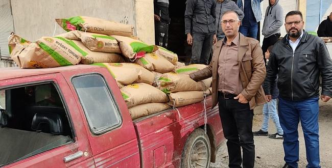 Şanlıurfa Tarım Müdürlüğü Telabyad ve Resulayn'da Tohum Dağıttı