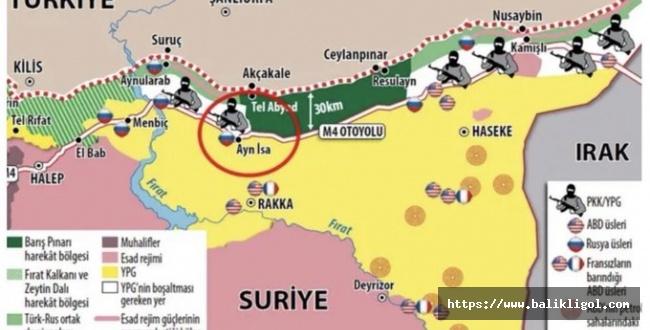 Suriye Milli Ordusu Teröristlerin yuvalandığı Ayn İsa bölgesine operasyon başlattı