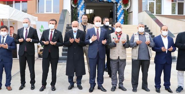 Tayba Ortaokulu Törenle Açıldı