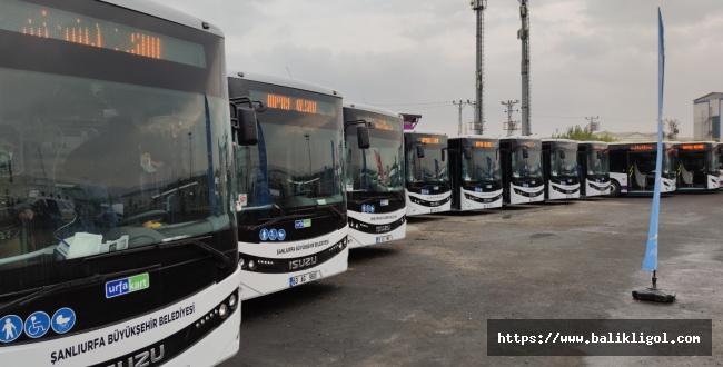 Urfa Büyükşehir 22 Araç Daha Filosuna Kattı