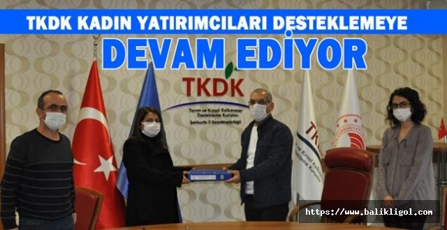 Urfa'da TKDK Hibesiyle 2 Milyonluk Yatırım Yaptı