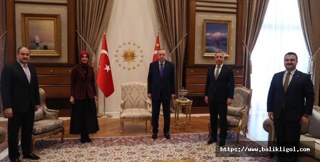 Urfa Heyetin Cumhurbaşkanlığında Ağırlandı