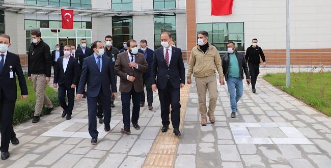 Urfa'da AMATEM ve ÇEMATEM Hasta Kabulüne Başlıyor