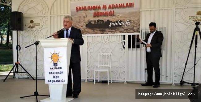 Urfalı İşadamı Sami Çiriş İstanbul Bahçelievler'e başkan adayı oldu