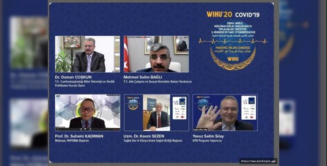 WIHU'20 COVID'19 Pandemi kongresi Sonuç Bildirgesi Yayımlandı