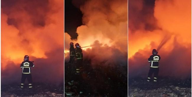 Yenice'de yangın! Olası bir facia önlendi
