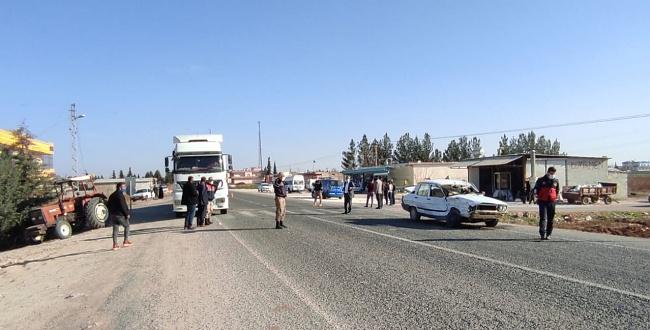 Akçakale-Ceylanpınar yolunda trafik kazası: 2 yaralı