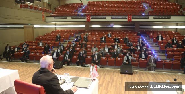 Belediye Meclisi Yılının İlk Toplantısını Yaptı