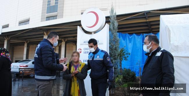 Belediyenin kurduğu tim Urfa'da Dilenci Avına Çıktı