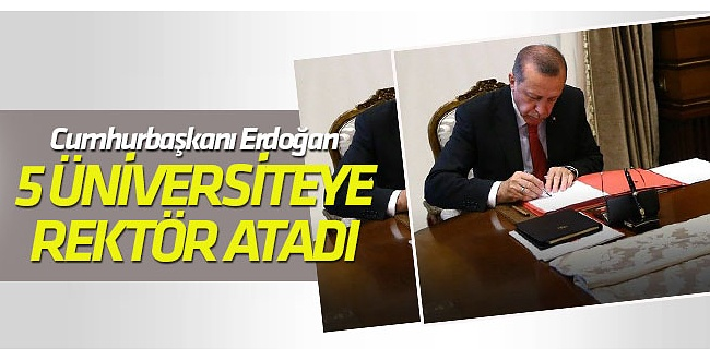 Erdoğan'dan Atama ve Görevden Alma Kararları, Resmi Gazetede Yayımlandı