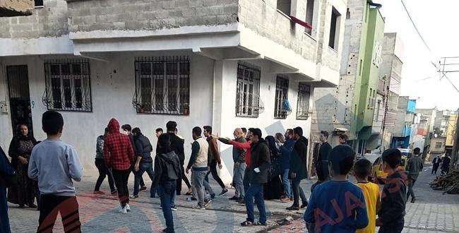 Eyyübiye İlçesinde Kız Kaçırma Kavgası! Taşlar ve Sopalarla Bir Birine Girdiler
