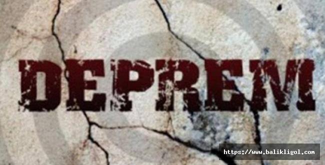 Haliliye Merkezli Deprem oldu, Vali Erin Açıklama Yaptı