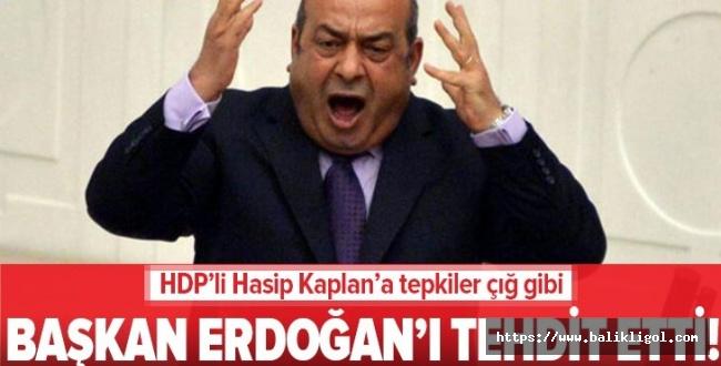 Hasip Kaplan'a sosyal medyada tepki yağdı