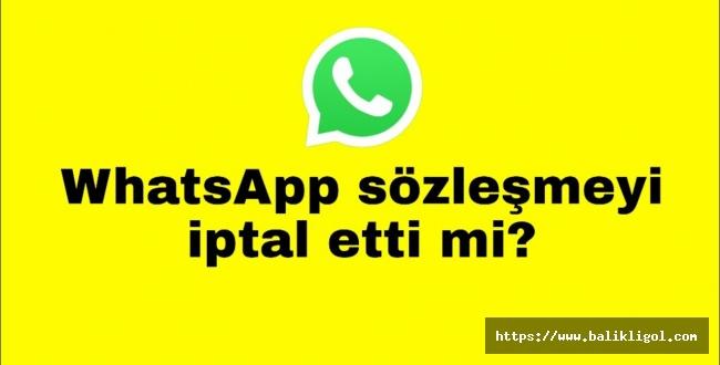 Kim Böyle Haberleri Yayıyor? WhatsApp Geri  adım atmadı!