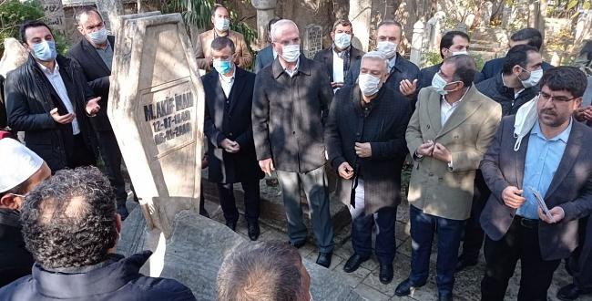Mehmet Akif İnan, mezarı başında anıldı
